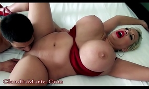 Young latino copulates massive tit claudia marie