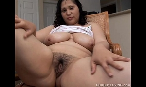 Busty dark brown bbw craves u were fucking her soaked love tunnel