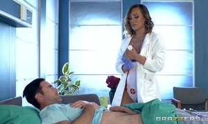 Brazzers - smutty nurse kiera rose receives some large pecker
