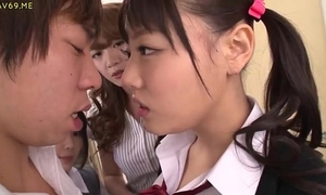 Asian schoolgirls entice classmate - greater quantity clips at hotasianonline.com