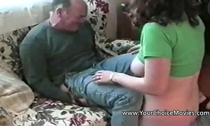 Homemade sex with breasty non-professional and 2 studs