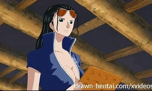 One piece anime - nico robin