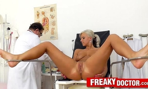 Beautiful blond nathaly heaven twat exam