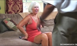 Granny oral-sex