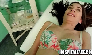 Yummy dark brown patient receives massaged and felt upd by unfathomable penetration 720 two