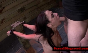 Bondage s&m fetish sub drilled in mouthreed[33]