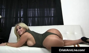 Boss cristi ann confronts employee who stole her messy pantyhose!