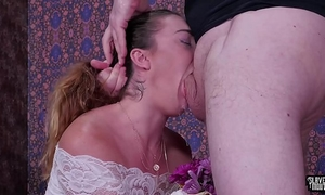 Big a-hole sweetheart, kat monroe, acquires a brutal face fucking, rimjob torture