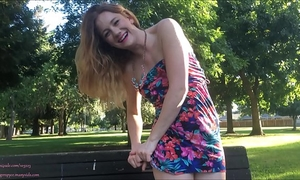 Risky public legal age teenager squirt vol 7