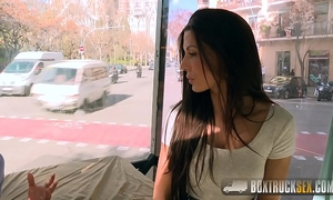 Amazing alexa tomas makes specie stripping off her clothing in public